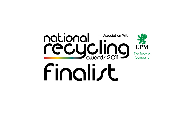 National Recycling Awards 2011 finalist