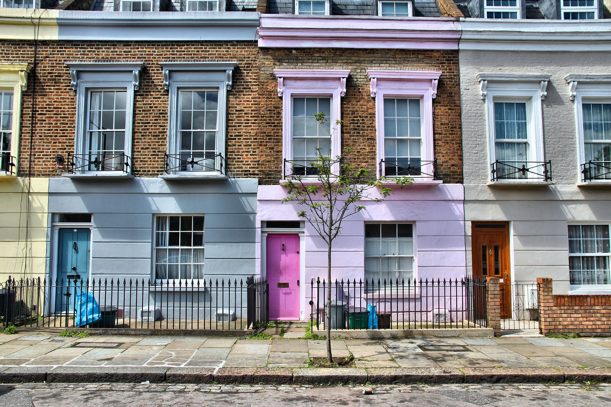 UK housefronts